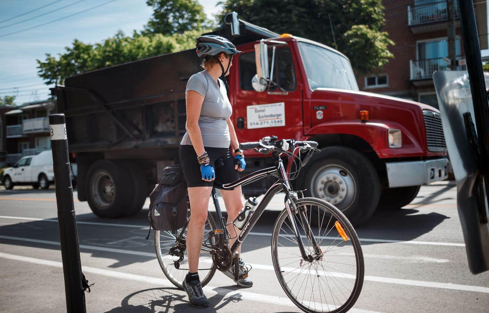Contre les camions, les autres usagers de la route font rarement le poids.