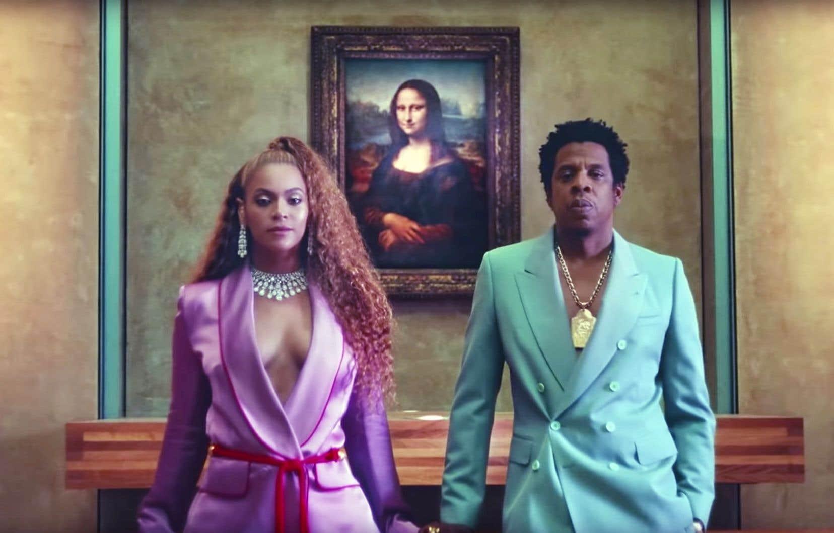 Beyoncé et Jay-Z au musée du Louvre