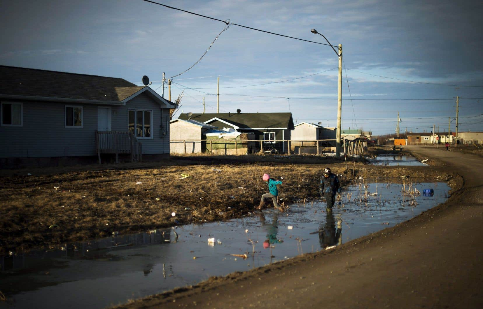 Selon le rapport, les régions où les enfants sont les plus pauvres au Canada affichaient une proportion plus élevée d'autochtones.