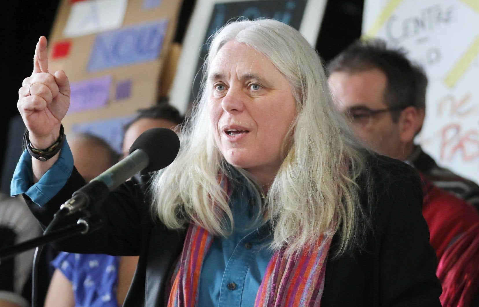 La députée Manon Massé