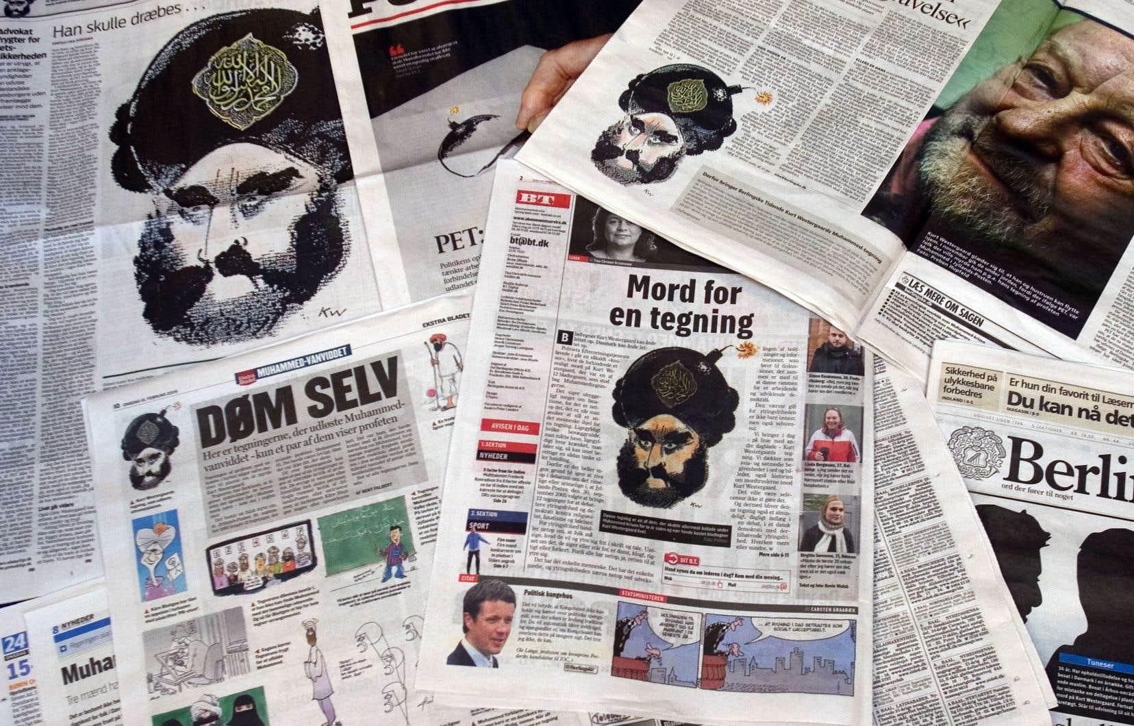 La caricature de Mahomet avait été reproduite par plusieurs journaux.
