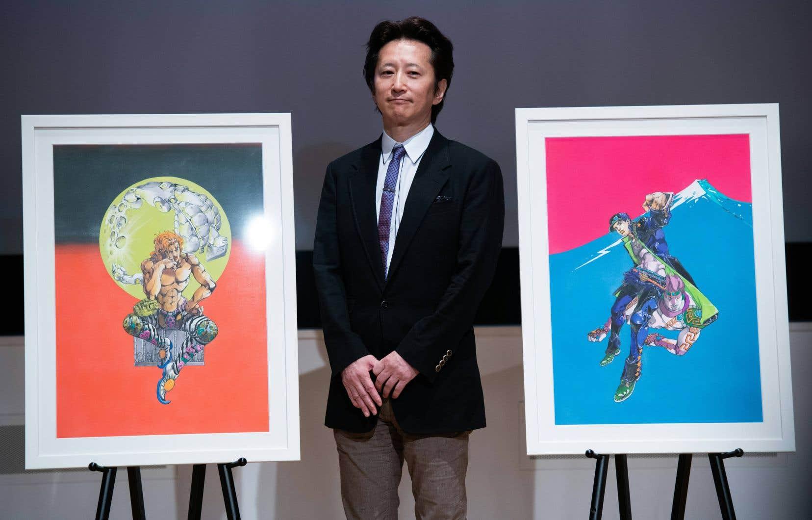 Pendant plus d'un mois, Hirohiko Araki, dessinateur de manga connu pour sa gigantesque saga Jojo, sera exposé au Centre national des arts de Tokyo.