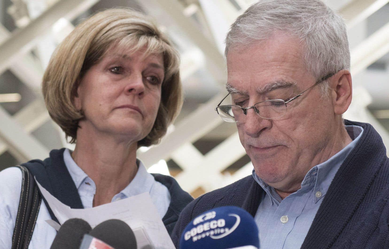 Manon Marchand et Raymond Bissonnette, les parents du tueur de la mosquée de Québec, ont brisé le silence jeudi au terme des observations sur la peine.
