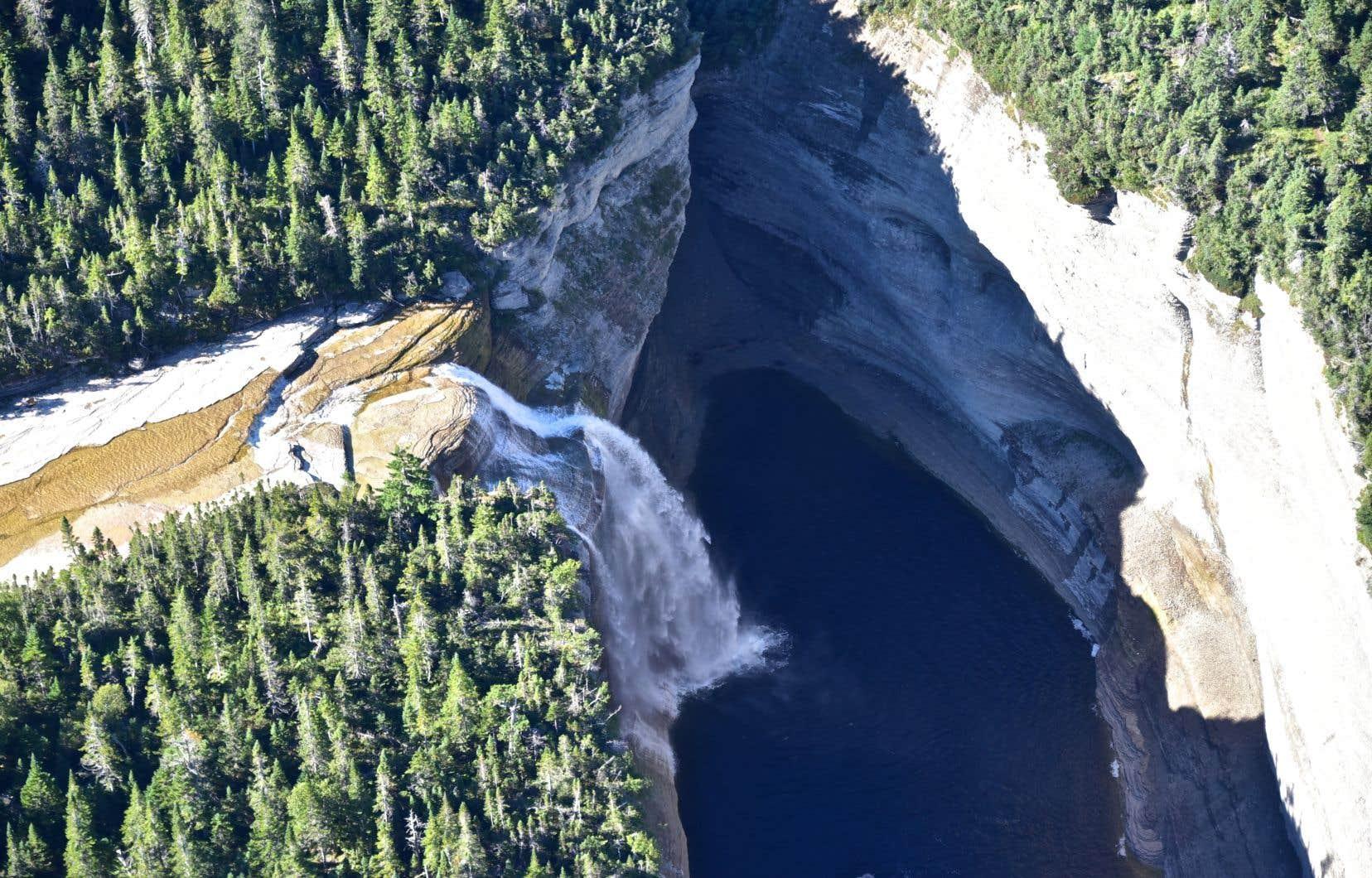 L'îled'Anticosti a été retenue par Parcs Canada essentiellement en raison de sa géologie.