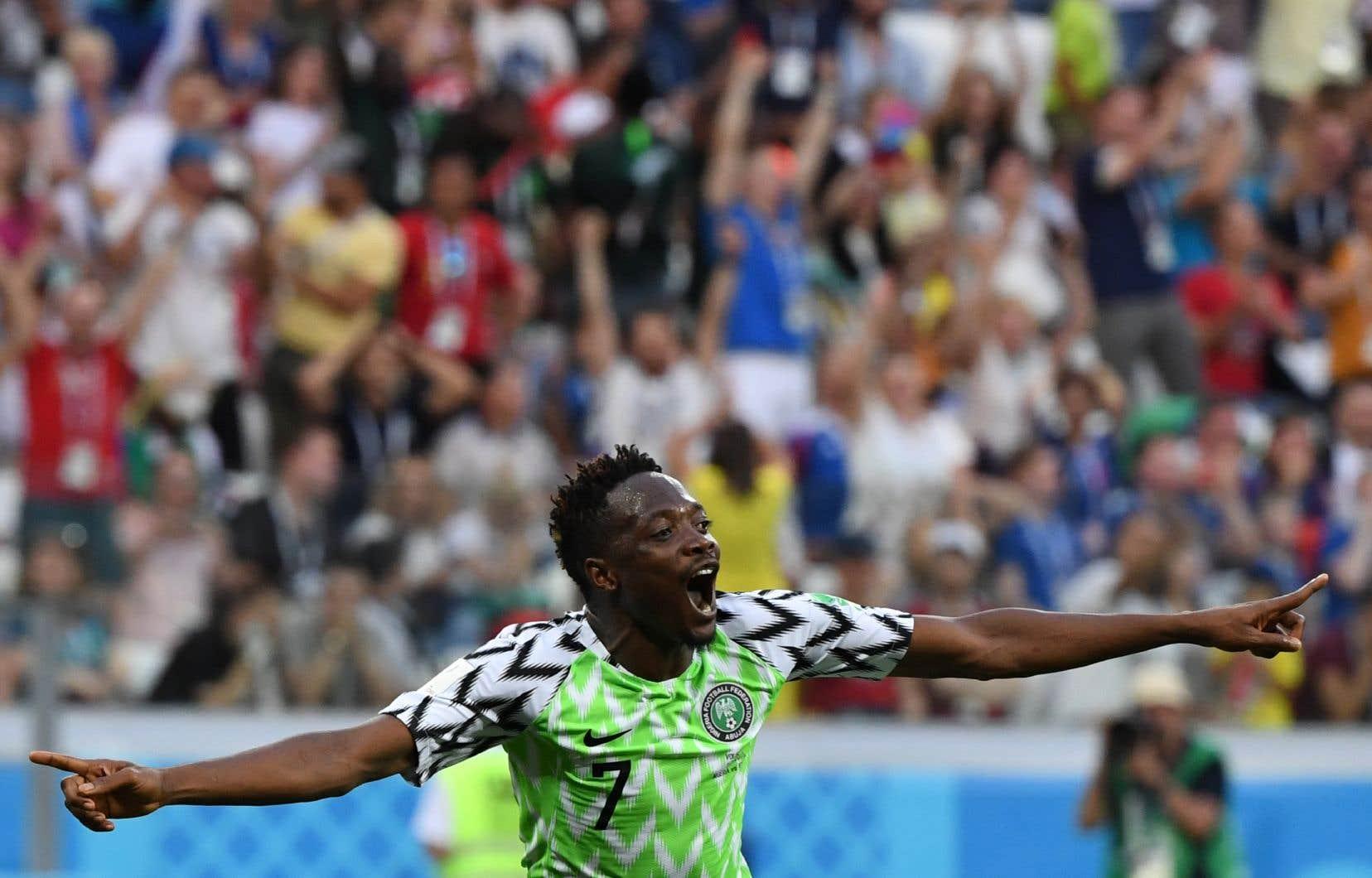 Grâce aux deux buts d'Ahmed Musa, les «Super Eagles» reviennent dans la course.