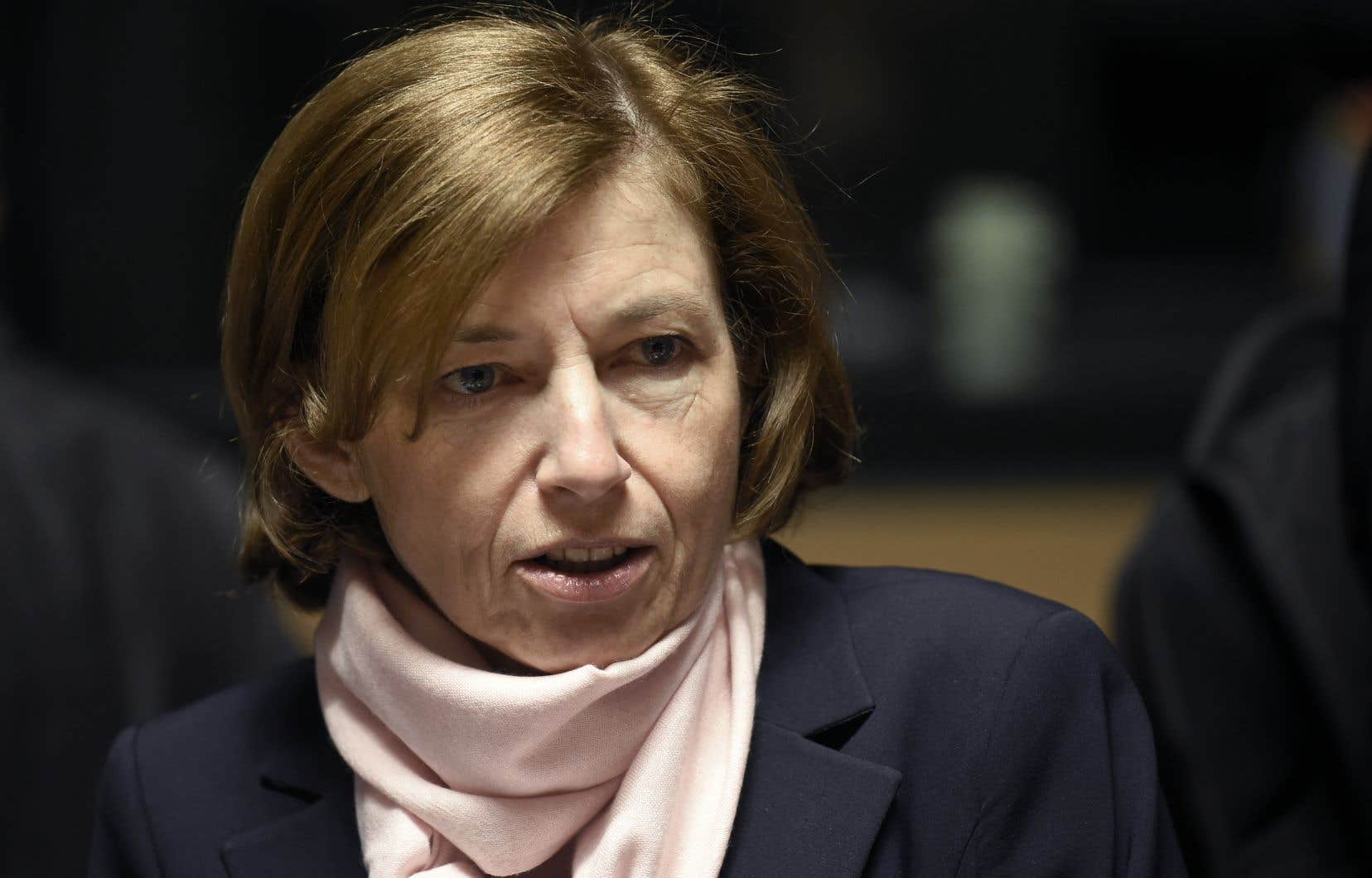 La ministre française aux Armées Florence Parly, lundi