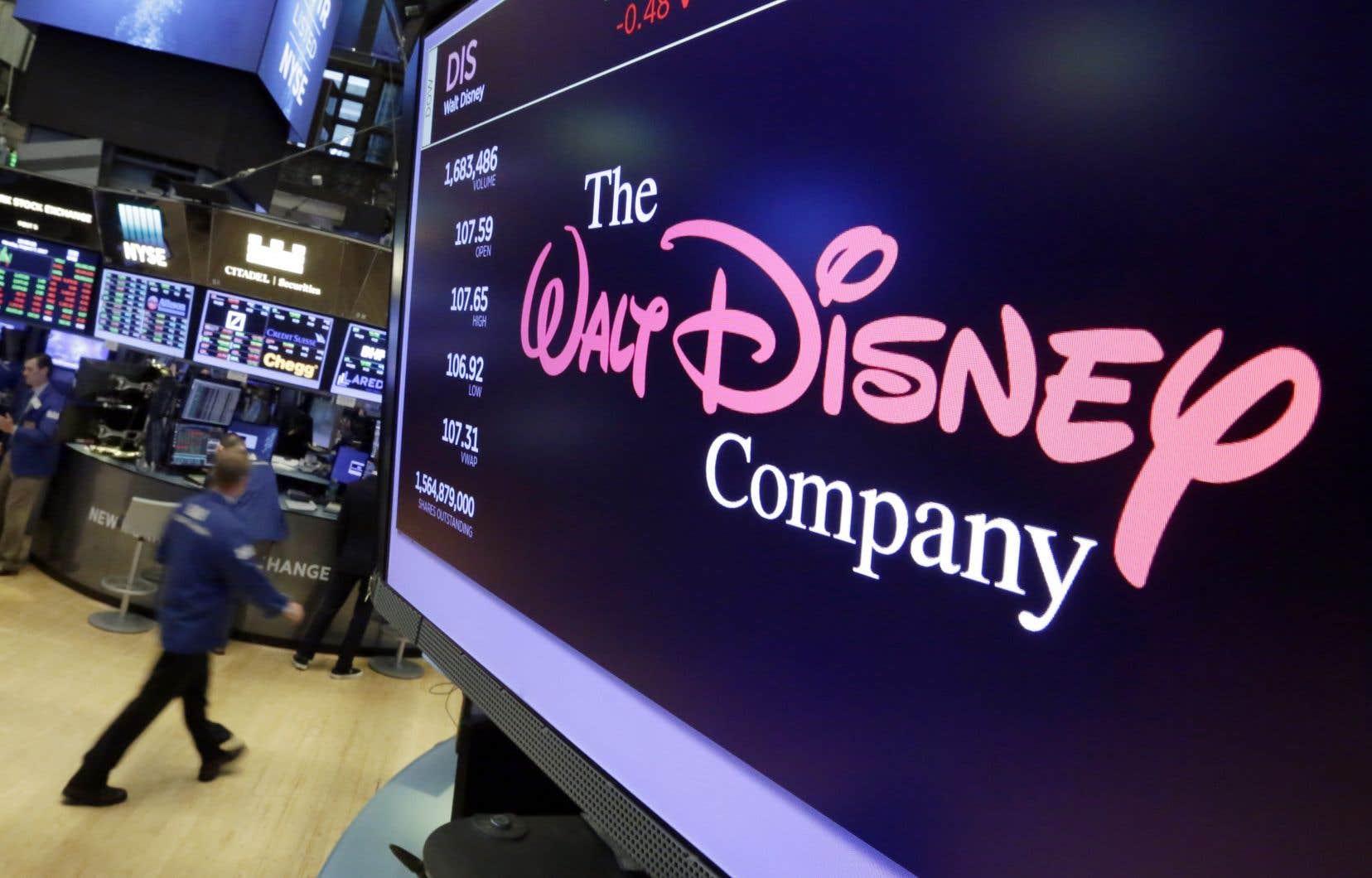 The Walt Disney Company a mis 71,3milliards de dollars sur la table dans cette opération.