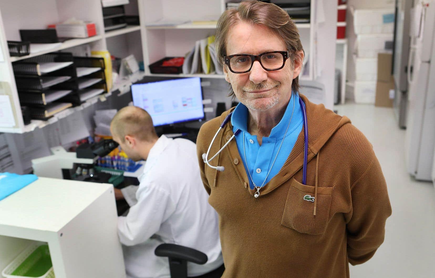 Fondateur et p.-d.g. de la clinique l'Actuel, le Dr Réjean Thomas explique qu'une part importante de sa clientèle pratique aujourd'hui le «chemsex», c'est-à-dire qu'on mélange drogue dure et sexe.