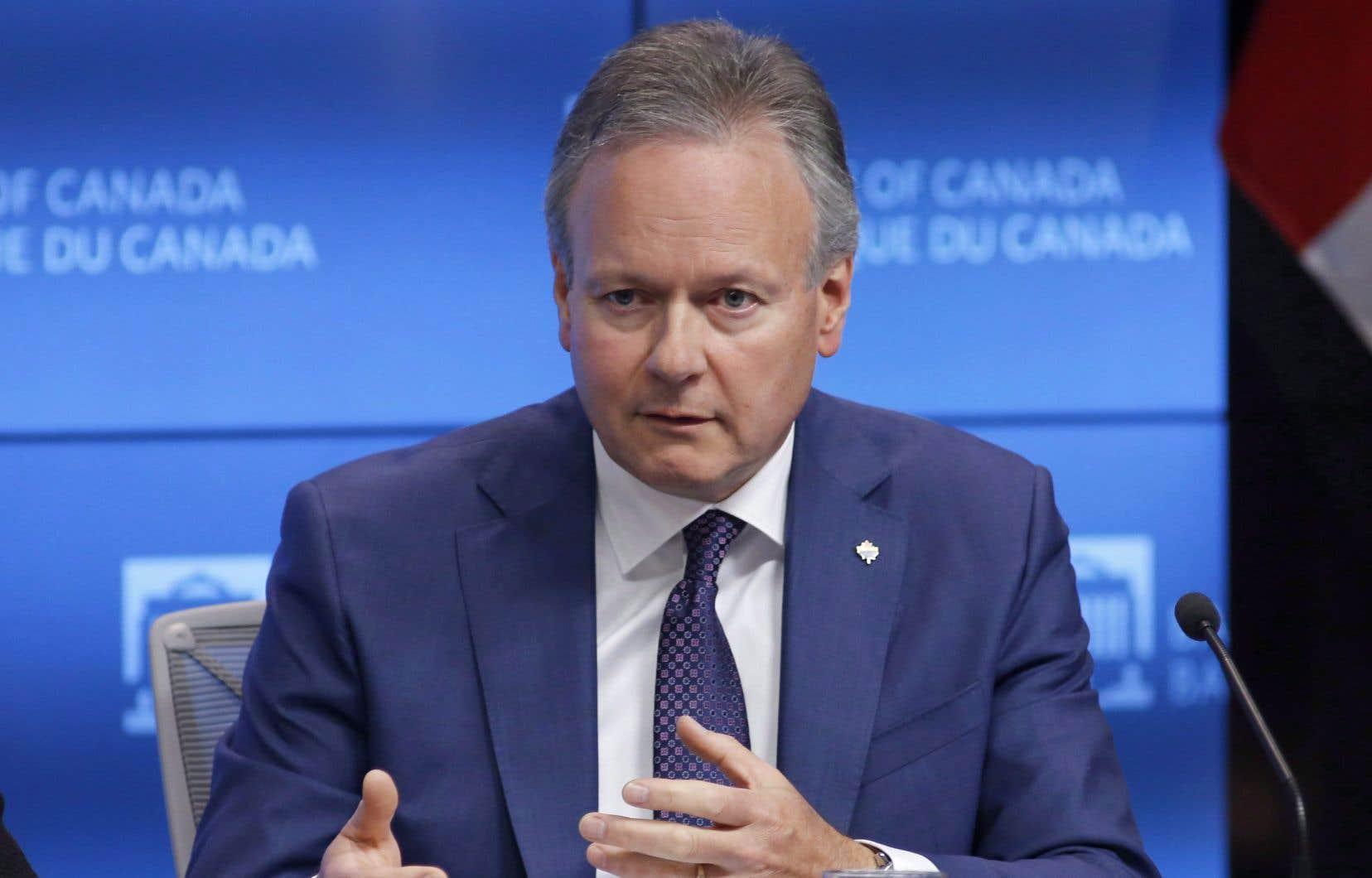Le gouverneur de la Banque du Canada, Stephen Poloz, a affirmé que l'institution tiendrait compte dans ses projections de l'incidence des tarifs américains sur l'acier et l'aluminium.