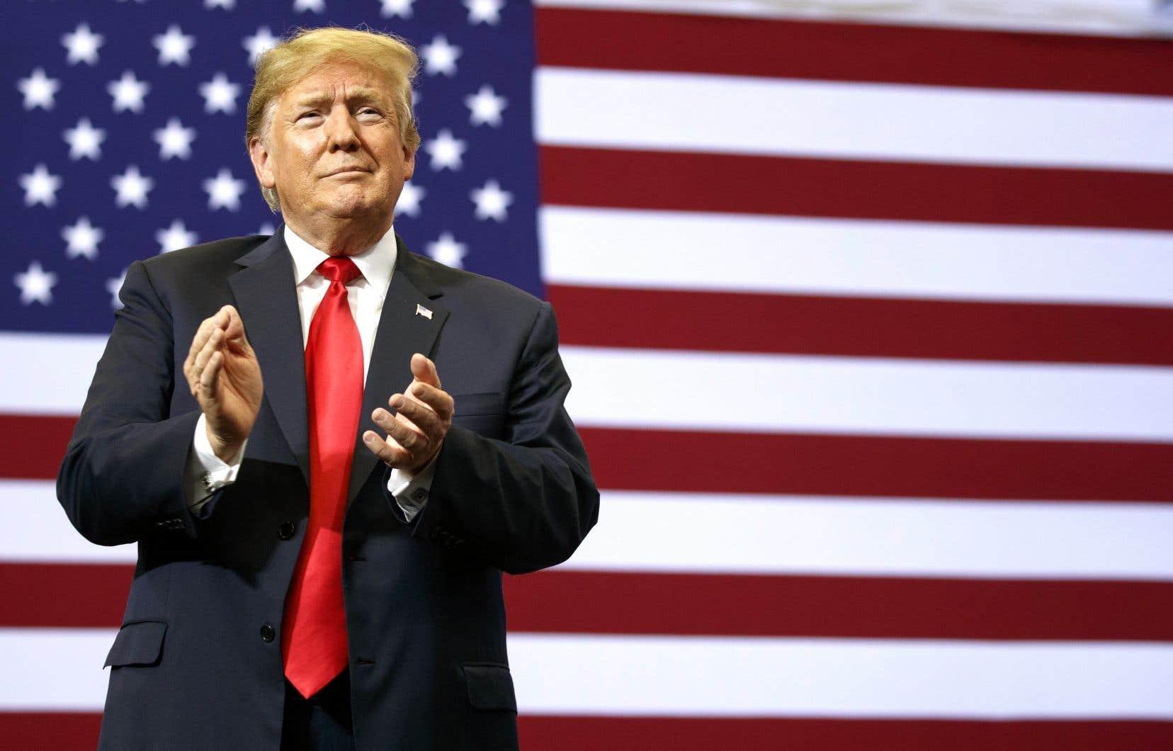 La politique commerciale «quelque peu hasardeuse» du président Donald Trump vient menacer à Wall Street un cycle haussier rendu à sa dixième année, alimenté par la progression des bénéfices des entreprises.