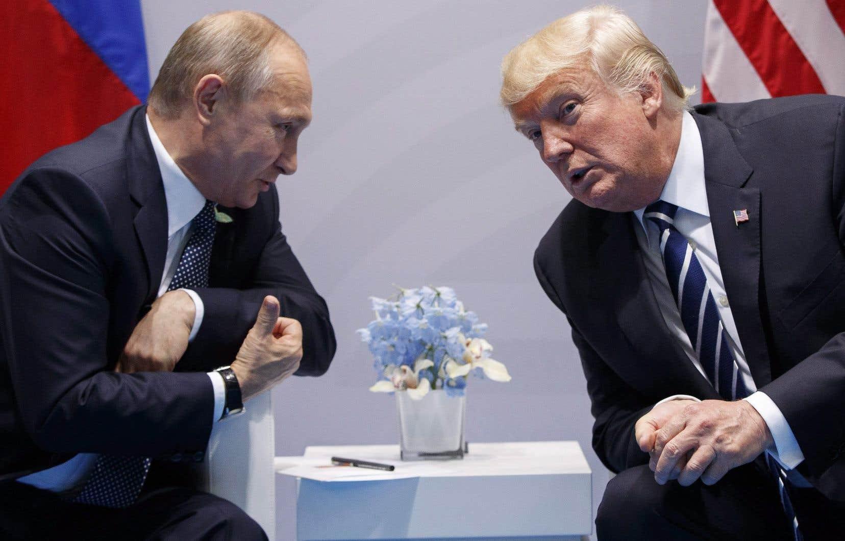 Donald Trump n'a jusqu'ici rencontré son homologue russe Vladimir Poutine qu'en marge de réunions internationales.