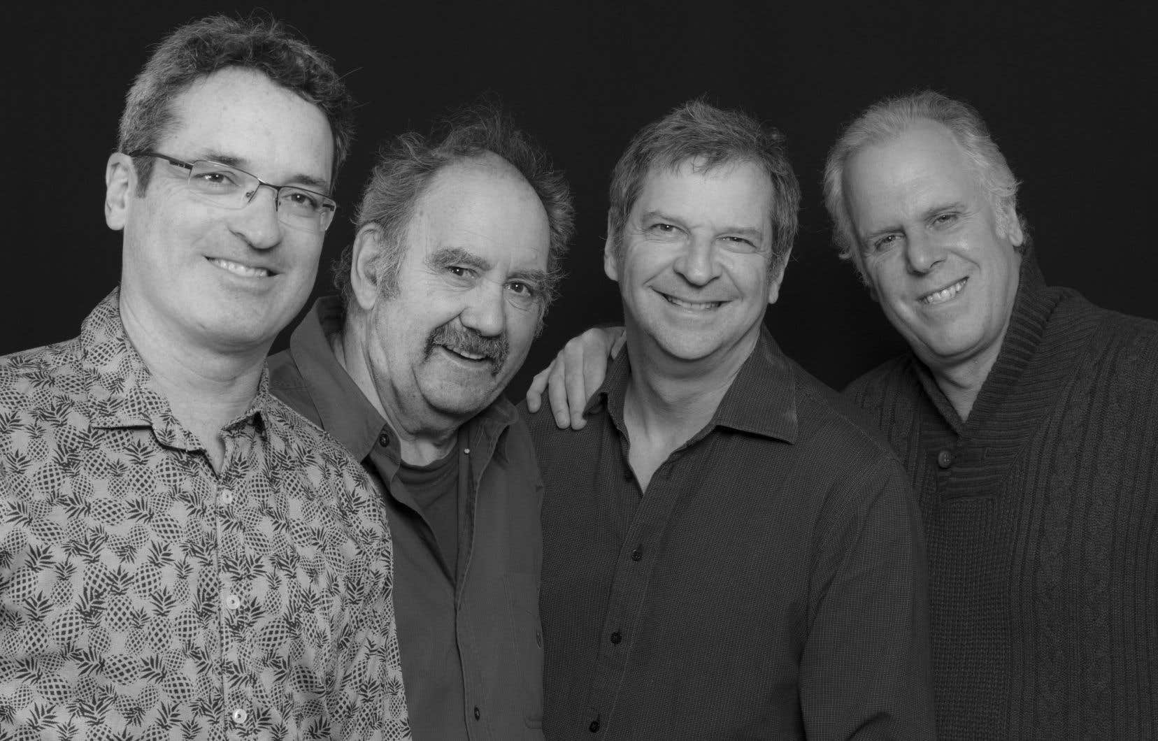 Le super-groupe formé de Frank Lozano, Michel Donato, François Bourassa et Pierre Tanguay lancera le 5 juillet au Upstairs l'album «Re: Bill Evans».