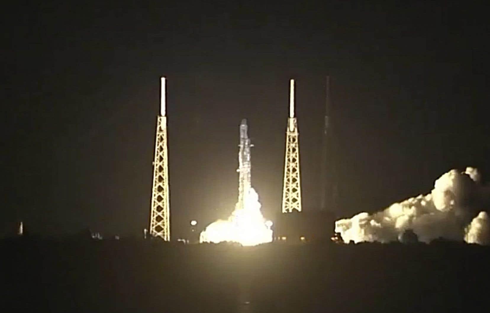 Le lancement s'est déroulé comme prévu à 5h42 depuis Cap Canaveral, en Floride.