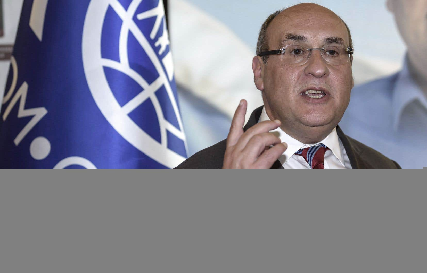 António Vitorino a été élu vendredi à la tête de l'organisation.