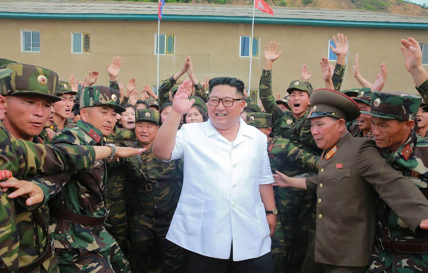 Lors du sommet du 12juin à Singapour, Kim Jong-un s'est engagé à «travailler vers» la dénucléarisation de la péninsule coréenne.