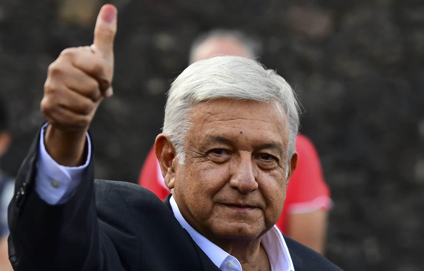 Andrés Manuel Lopez Obrador, dit «AMLO»