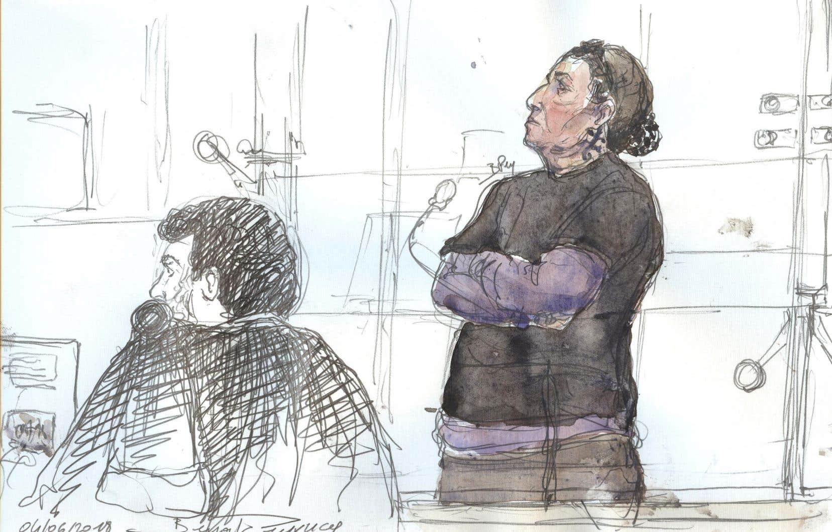 Christine Rivière est la mère de Tyler Vilus, un combattant français rapidement monté en grade dans la hiérarchie djihadiste.