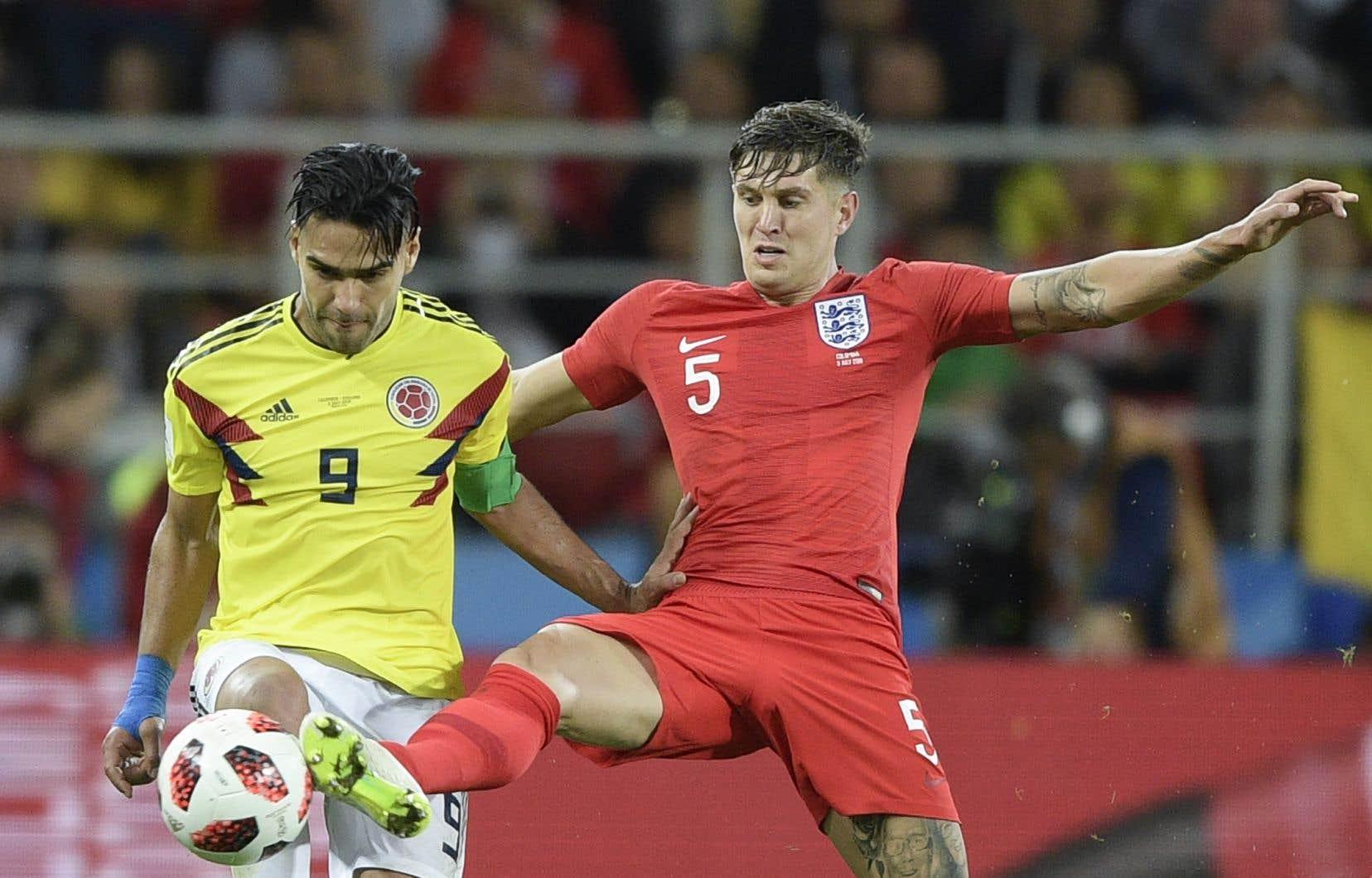 L'Angleterre affrontait la Colombie mardi en huitième de finale de la Coupe du monde de soccer.