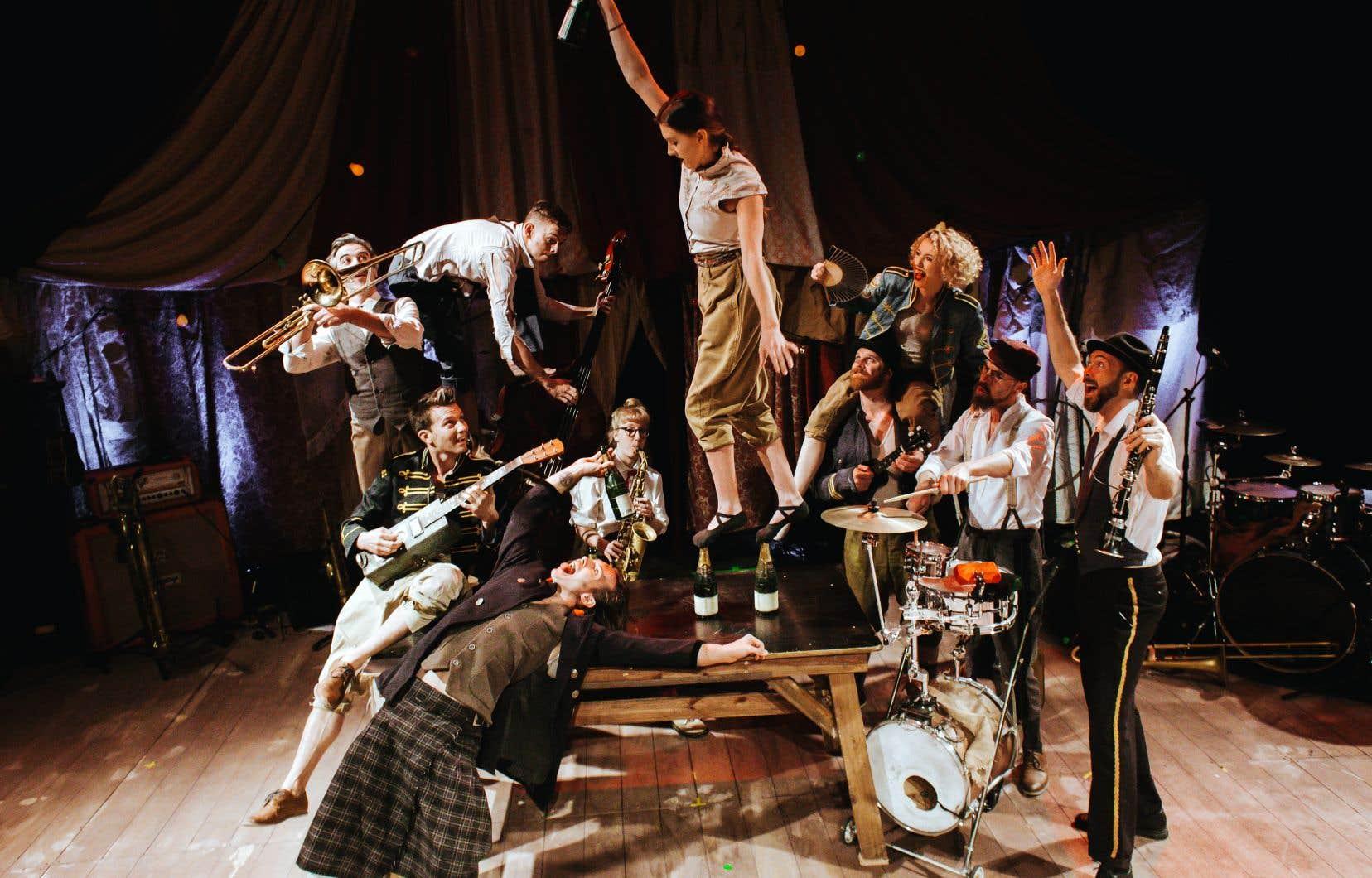 La Company 2, qui présentera son spectacle «Scotch and Soda» à Complètement cirque, a été fondée par deux anciens de la compagnie Circa.