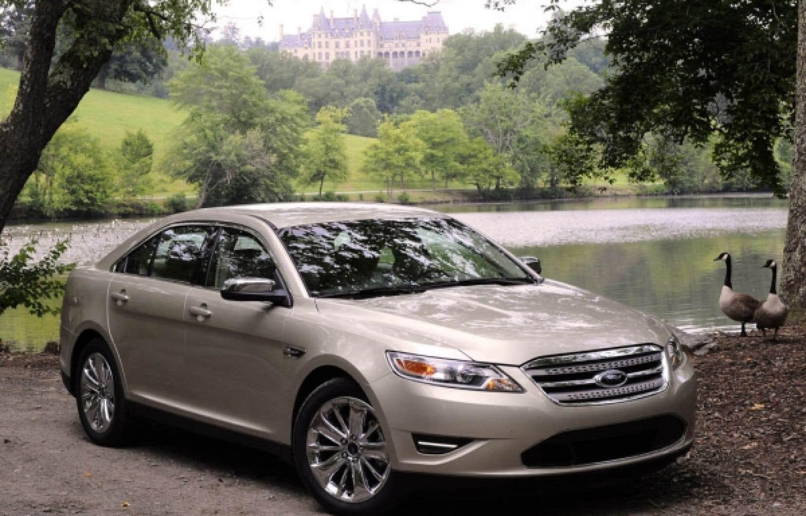 La Taurus trône désormais au sommet de la gamme des voitures Ford.