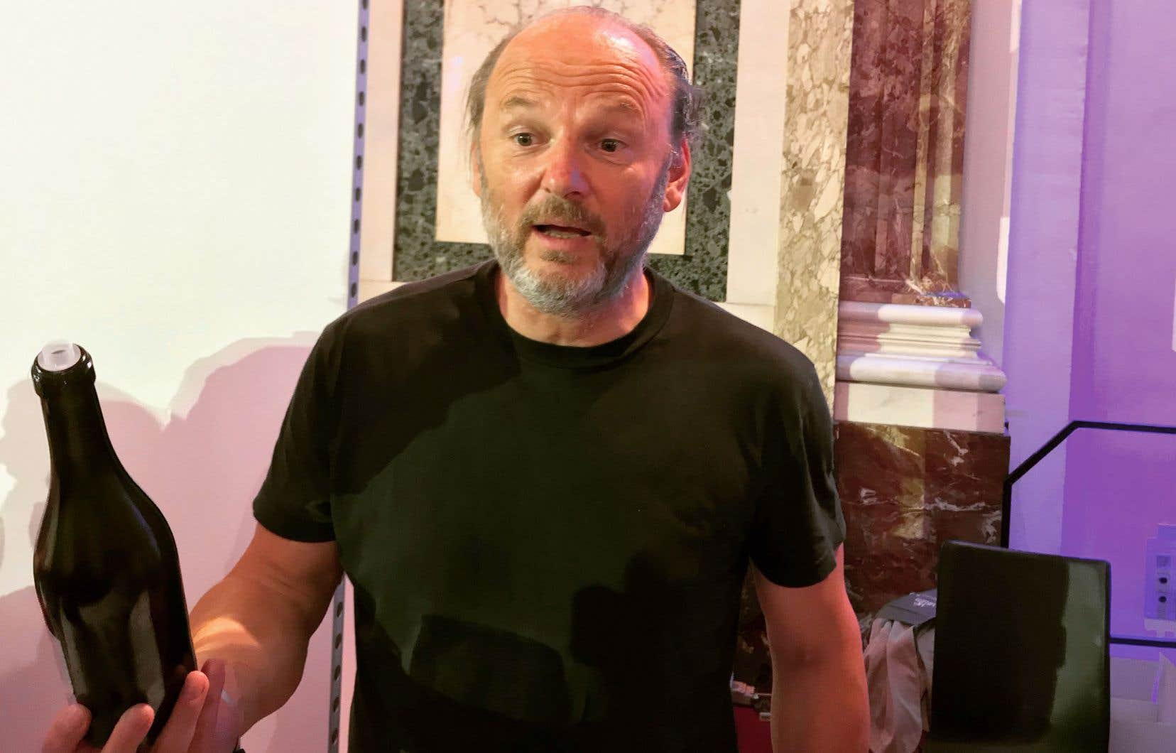 Le vigneron Roland Velich, ou Monsieur blaufränkisch lui-même!