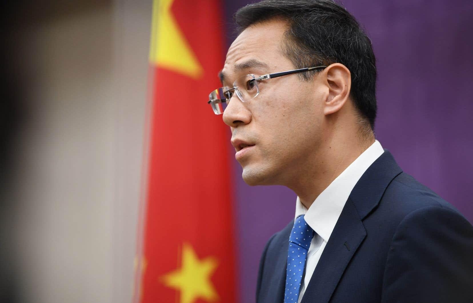 «La Chine ne cédera pas à la menace ni au chantage», a assuré jeudi à Pékin le porte-parole du ministère chinois du Commerce, Gao Feng.
