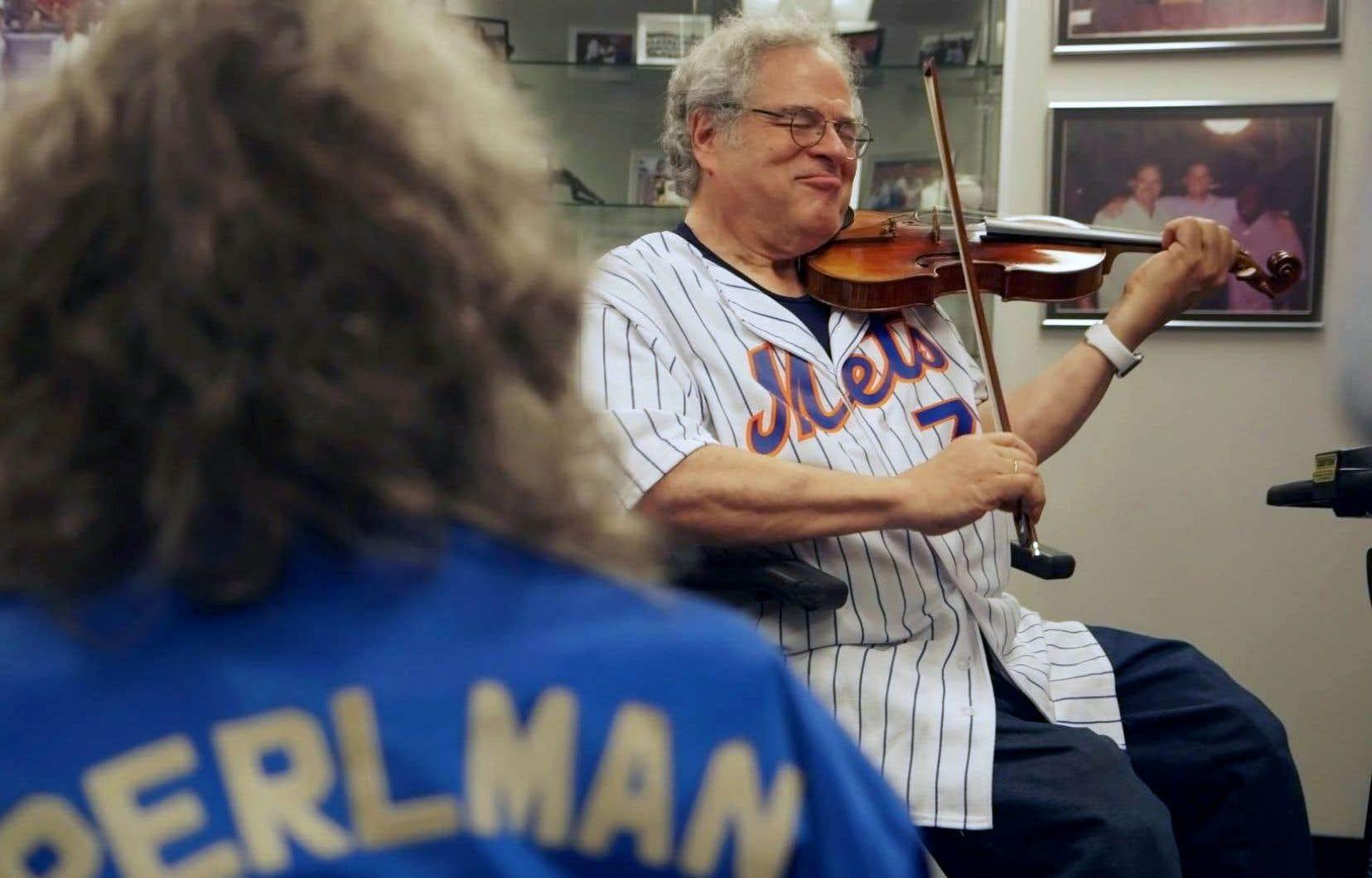 Dans «Itzhak», la documentariste Alison Chernick dresse le portrait du célèbre violoniste Itzhak Perlman.