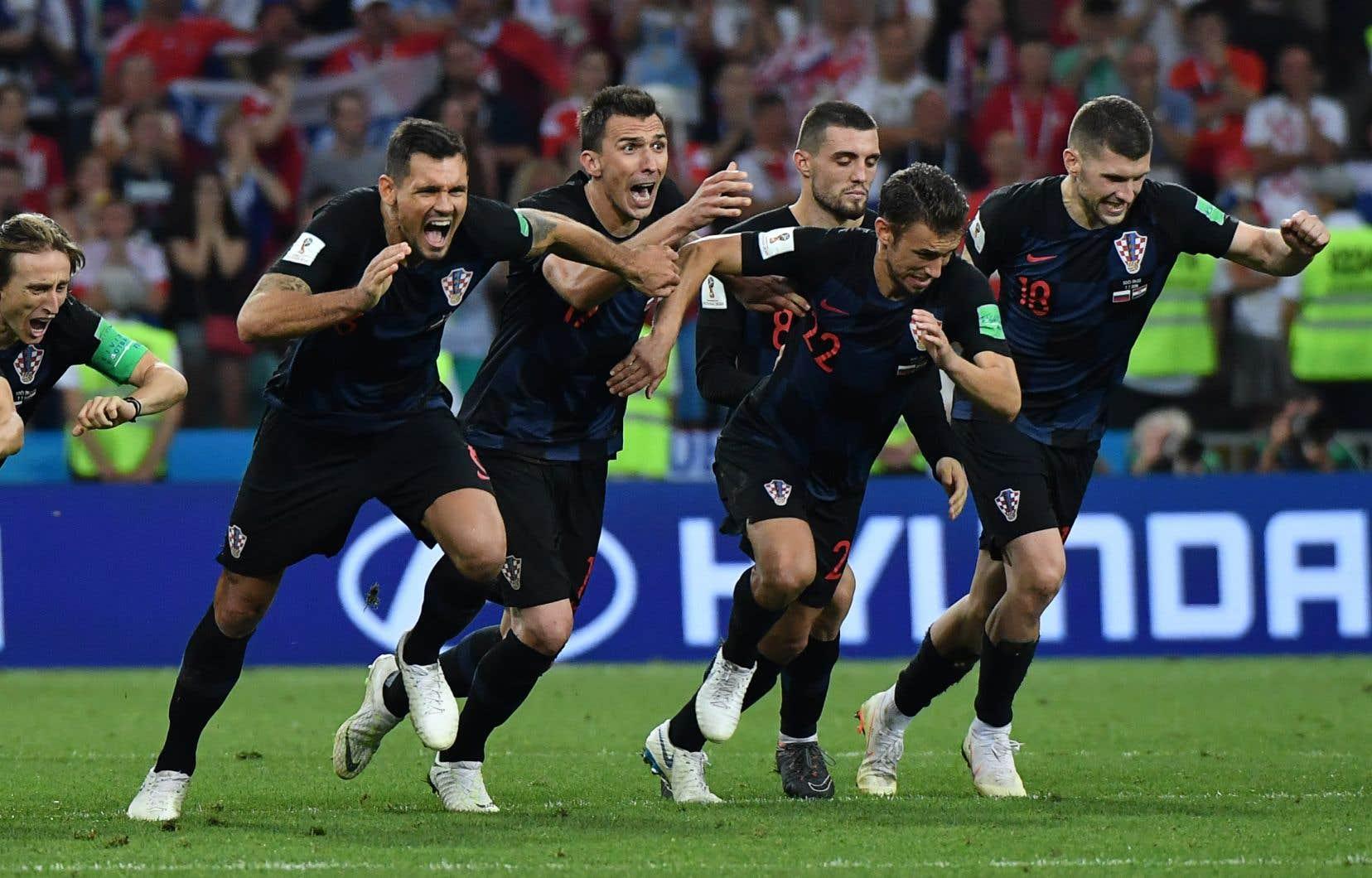 La Russie et la Croatie se sont affrontées samedi en quart de finale.
