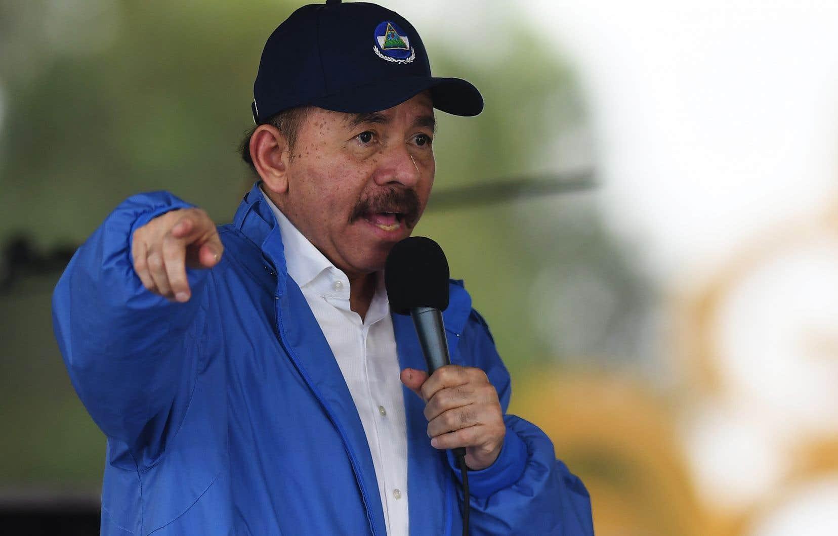 Des barrages avaient été érigés par des opposantsau président Daniel Ortega.