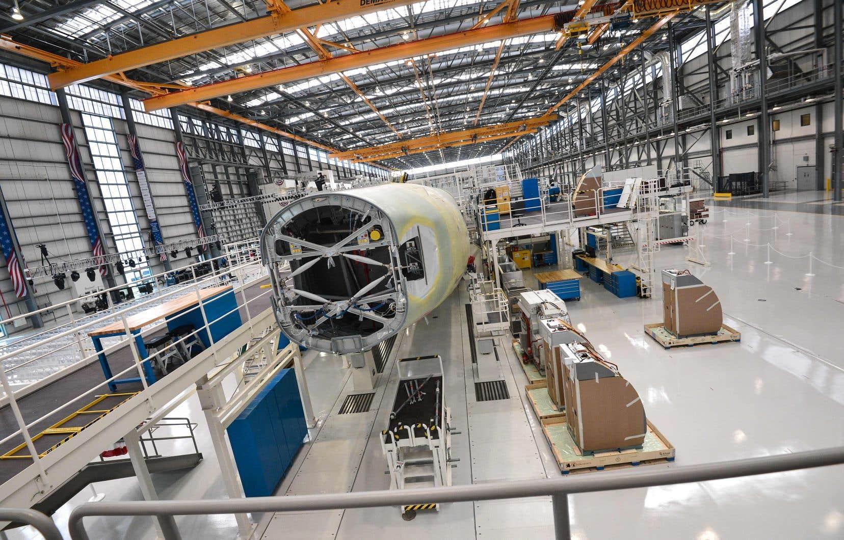 Les Airbus A220-300 seront assemblés à Mobile, en Alabama, où Airbus assemble déjà son A321.
