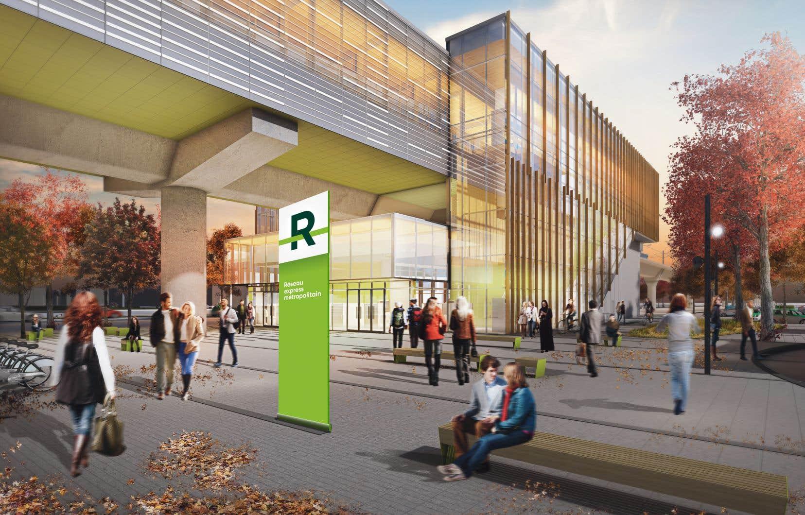 Le nouveau lien vert aura pour but de faciliter l'accès à la future station du Réseau express métropolitain à Kirkland.