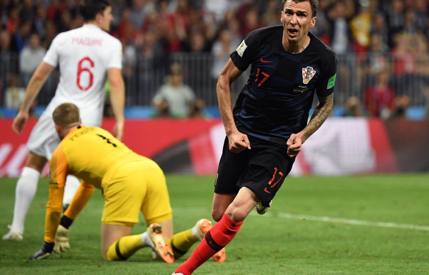 Mario Mandzukic a semé l'hystérie dans le camp croate avec le but vainqueur.