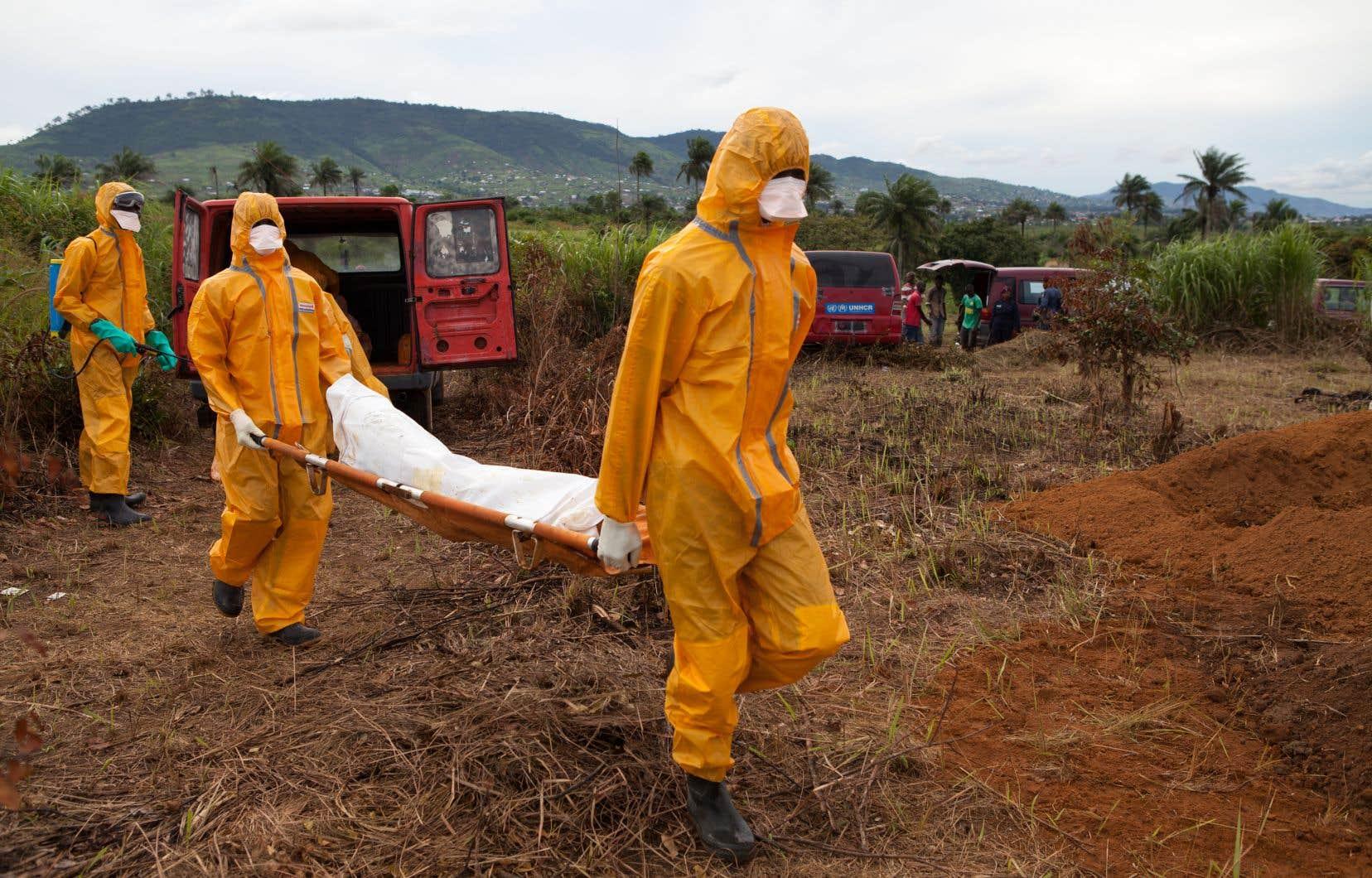 Un vaccin expérimental a déjà été mis au point à la suite de l'épidémie d'Ebola qui a frappé l'Afrique de l'Ouest entre fin 2013 et 2016, notamment en Sierra Leone.