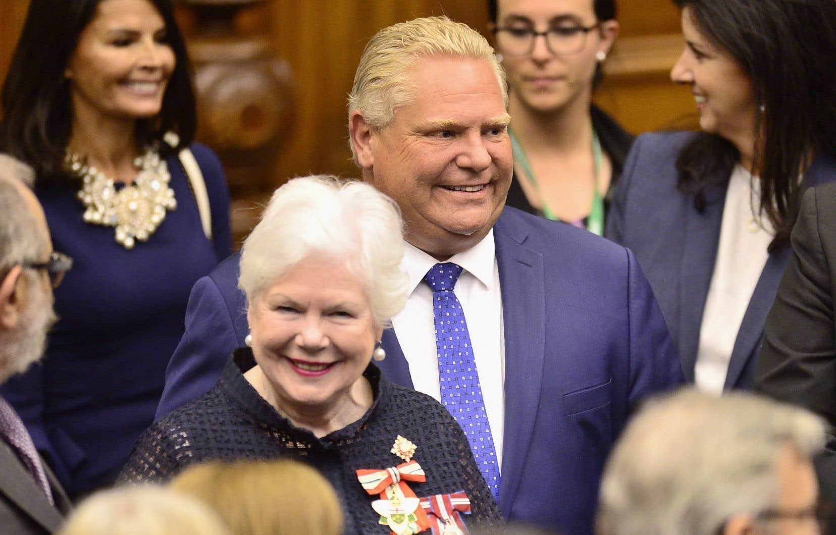 Le premier ministre de l'Ontario, Doug Ford, précise ses orientations politiques dans son discours du Trône jeudi.