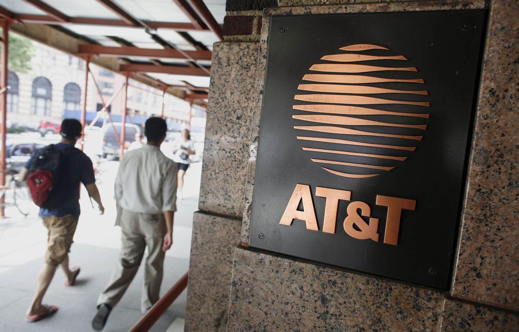 AT &T est le premier câblo-opérateur américain et le deuxième opérateur mobile.