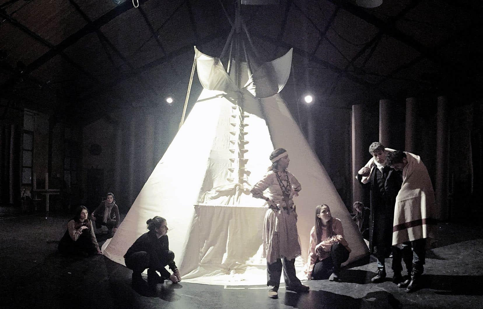 Le Théâtre du Soleil à Paris proposera une relecture de l'histoire du Canada.