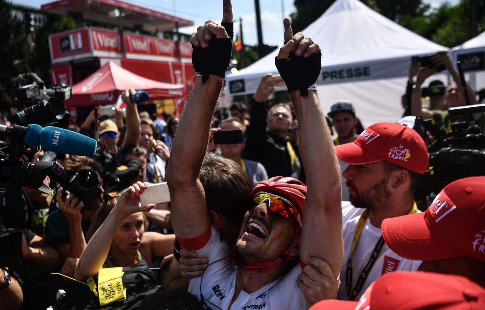 Degenkolb avait remporté leParis-Roubaix en 2015.