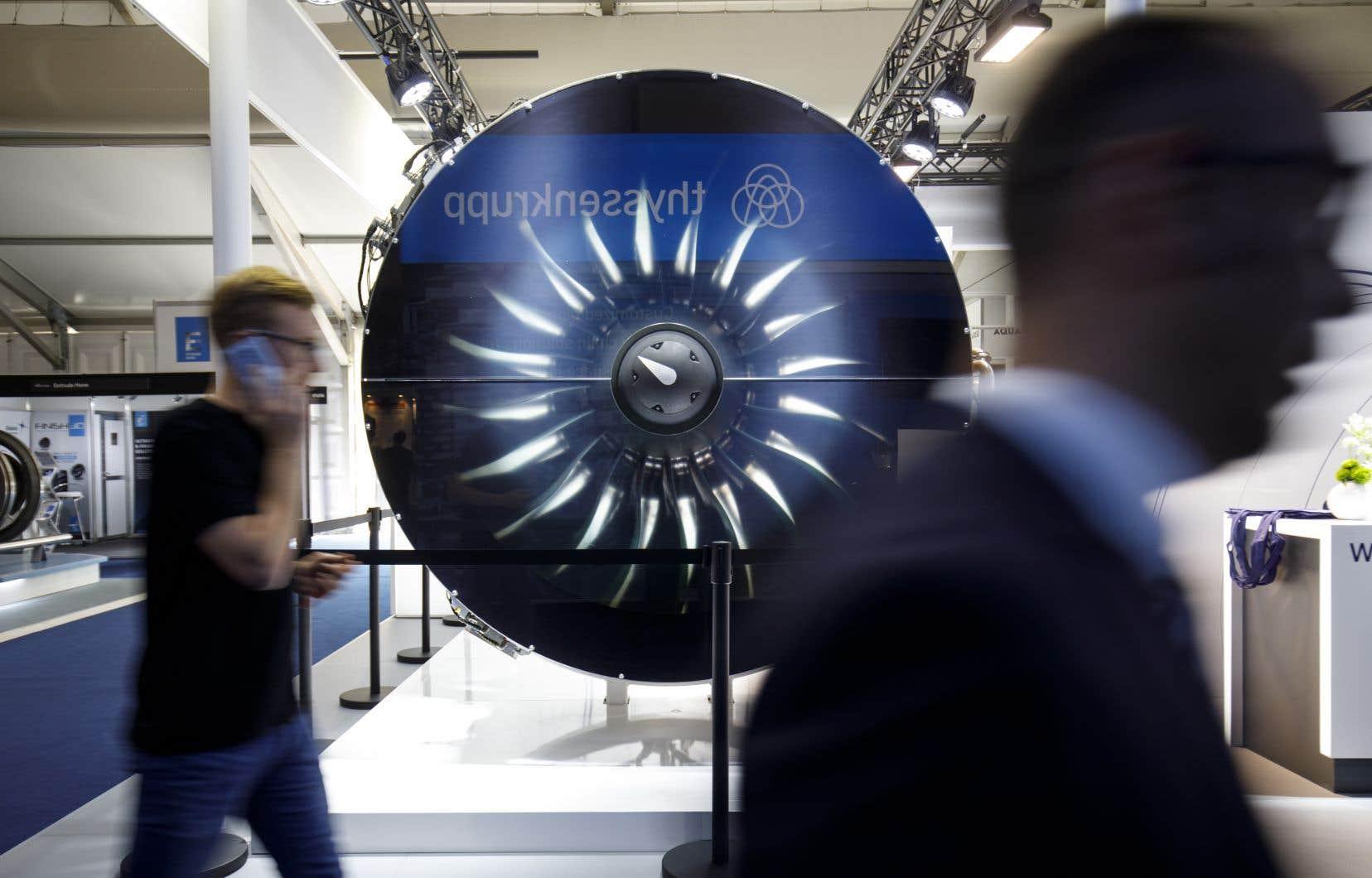 Plus de 130 entreprises canadiennes sont au Salon aéronautique de Farnborough, représentées par un contingent de 420 personnes.