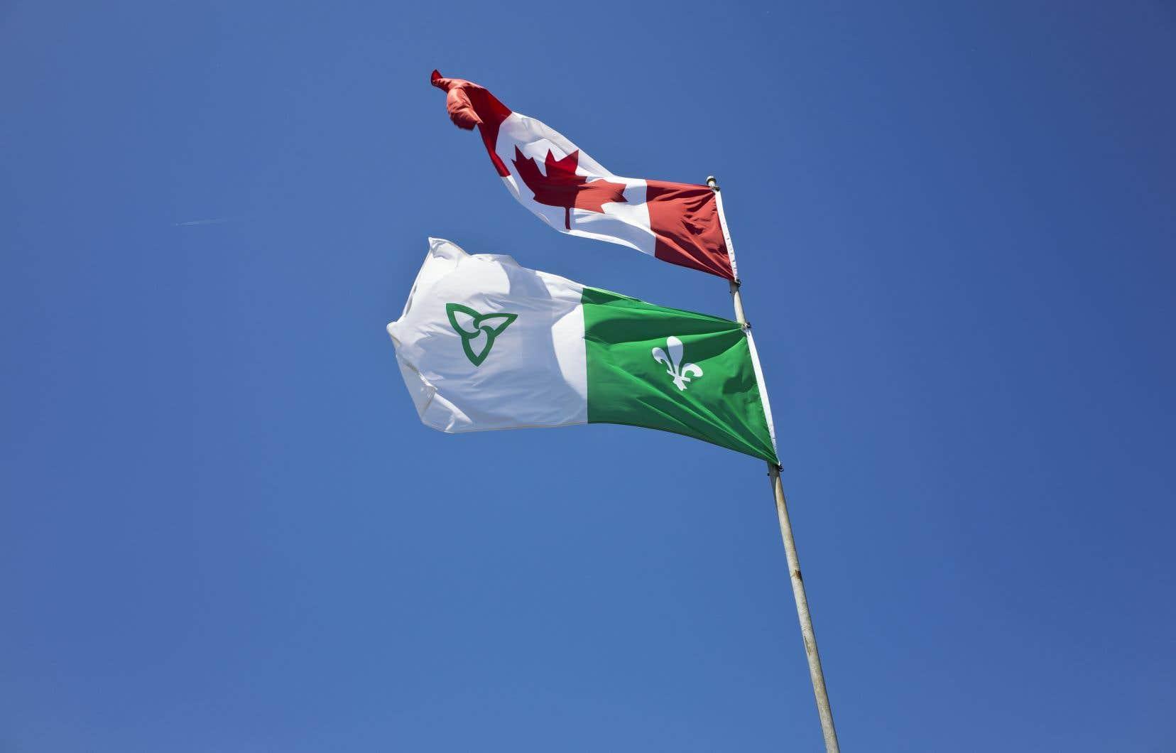 La proportion des francophones en Ontario était de 4,8% en 2011 et de 4,7% en 2016.