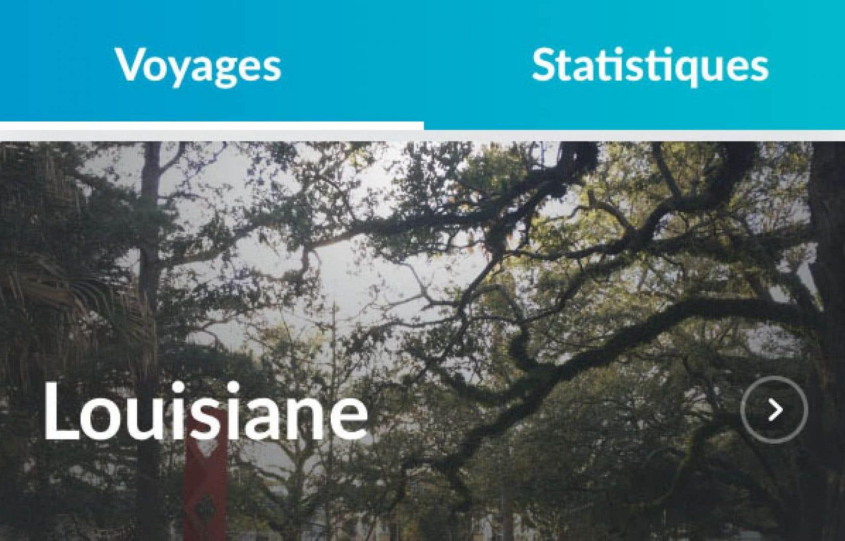 Dès son installation, l'application Polarsteps peut déterminer à partir des photos déjà sur votre appareil les destinations visitées.