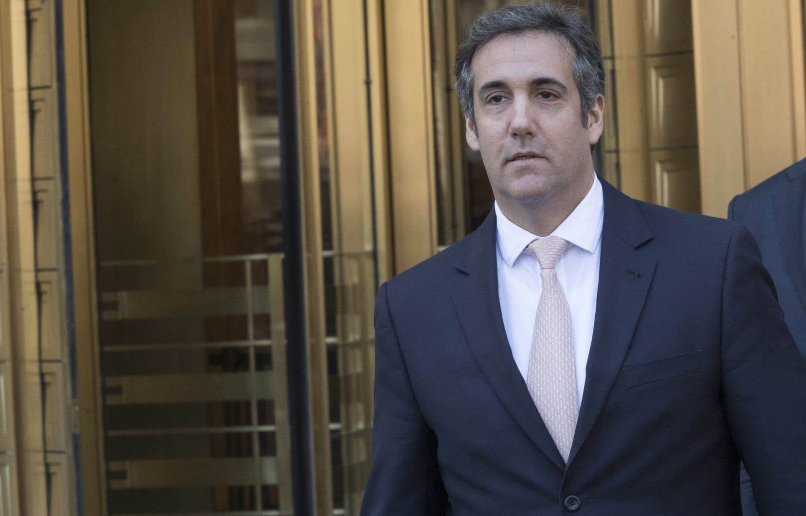 L'avocat personnel de Donald Trump, Michael Cohen, en avril dernier