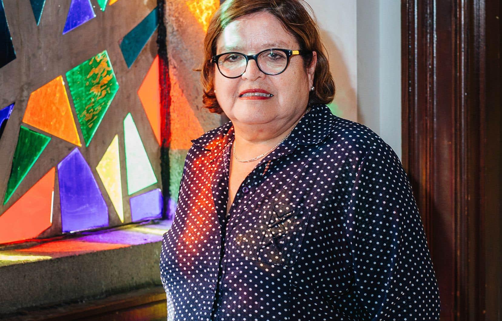 Rosa Elena Donoso est pasteure depuis 12 ans dela paroisse Camino de Emaùs de l'Église unie.