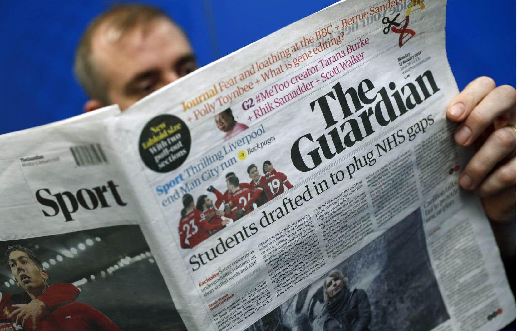 <p>En difficulté financière chronique, GMG avait pris la décision de passer le «Guardian» au format tabloïd à partir du mois de janvier pour faire des économies.</p>