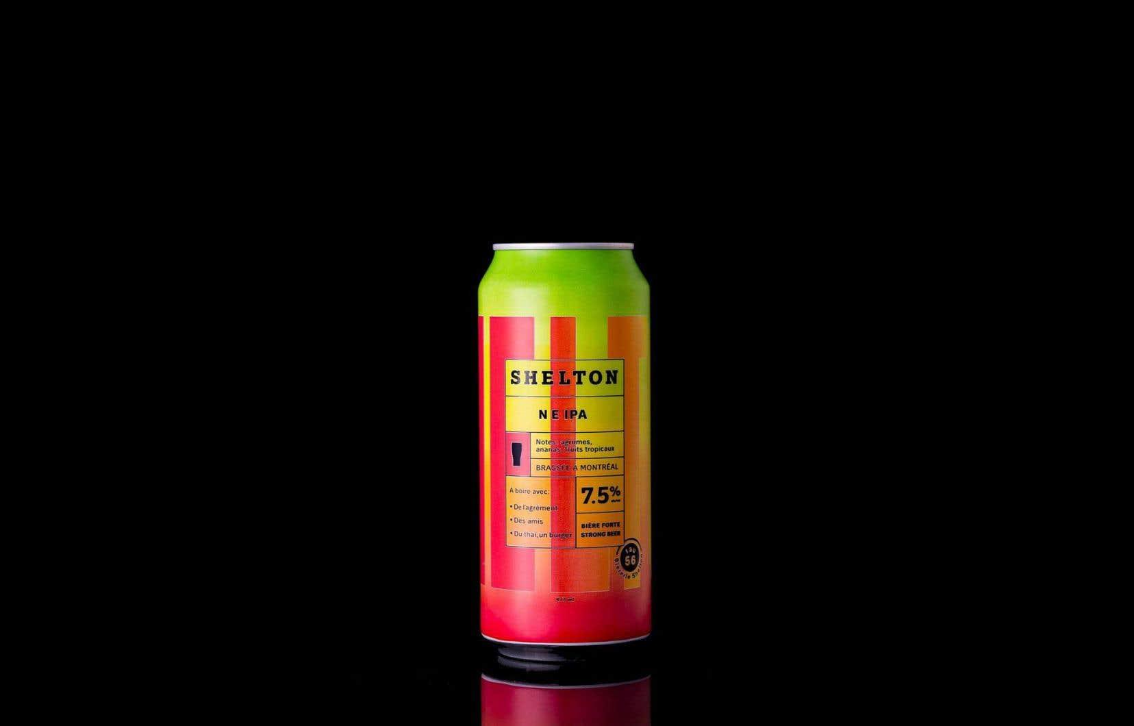 Un an à peine après avoir commercialisé sa première bière, le brasseur Darryl Shelton, de Bièrerie Shelton, s'est déjà fait un nom avec sa recette d'India pale ale: la Shelton IPA, titrant 7,5% d'alcool.