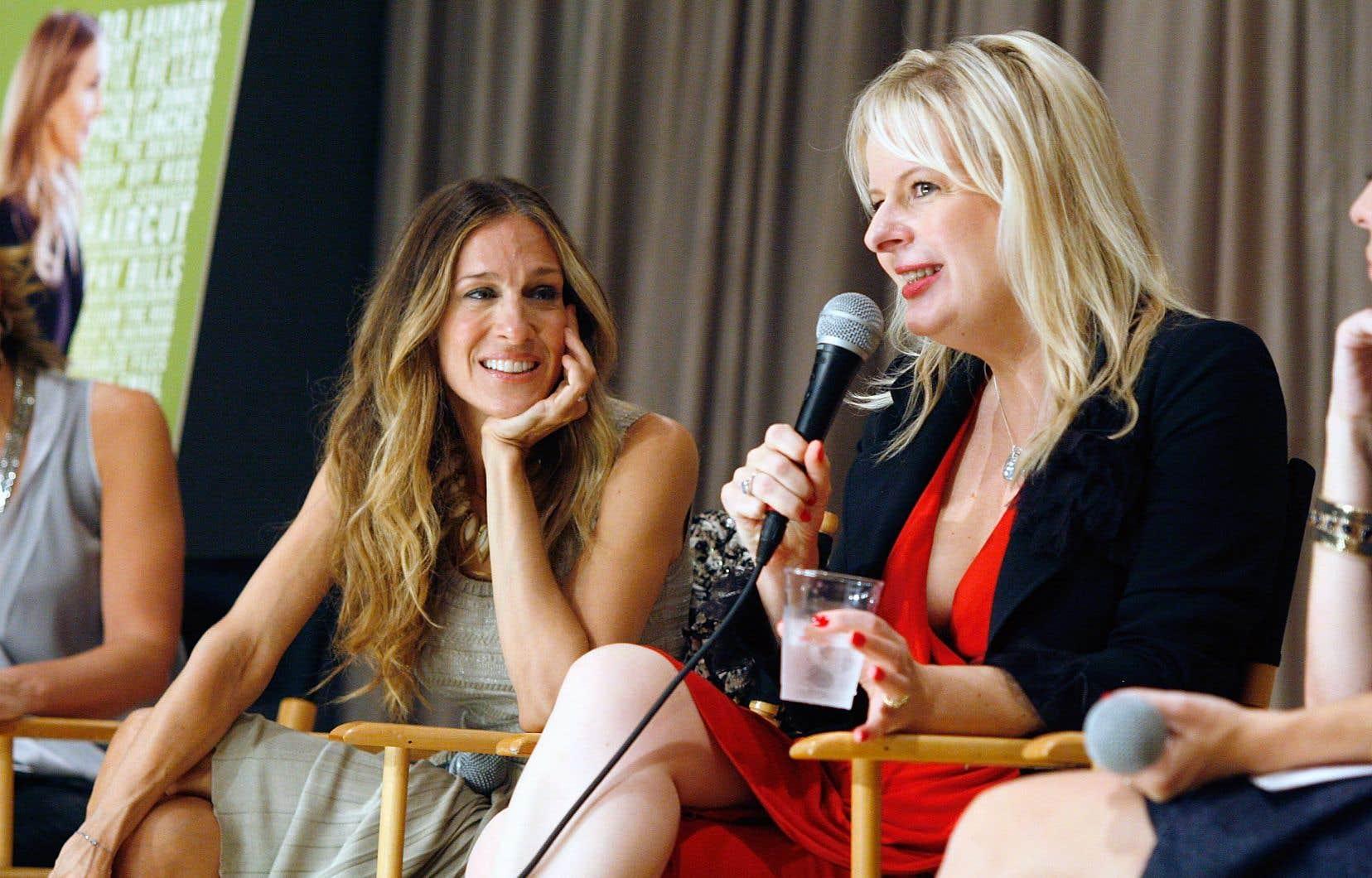 Quinze ans après avoir raconté les tribulations de Kate Reddy, transposées au cinéma et mettant en vedette Sarah Jessica Parker (à gauche), Allison Pearson, en 2011 sur notre photo, ramène son héroïne angoissée.