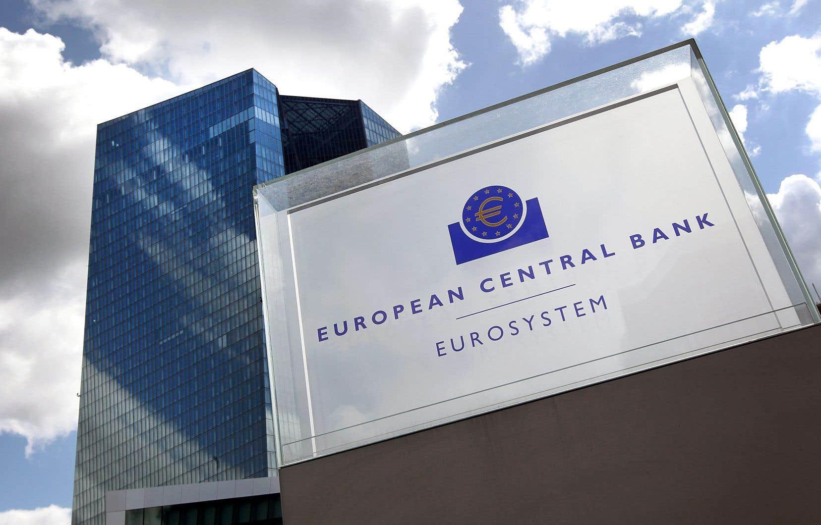 La Banque centrale européenne ne prévoit pas d'augmenter ses taux d'intérêt pendant la prochaine année.