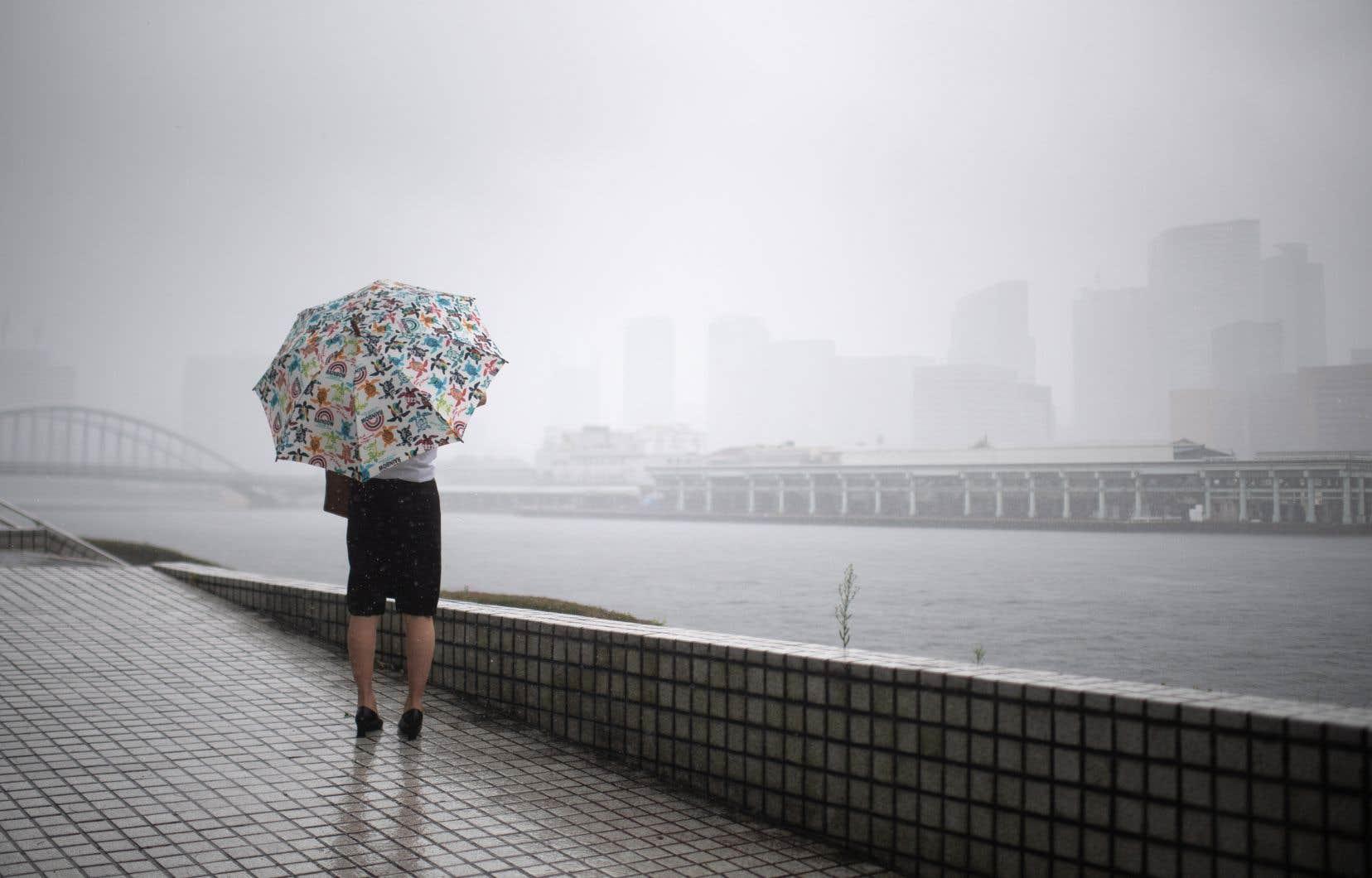 Le Japon, actuellement dans la saison des typhons, est régulièrement frappé par d'importantes tempêtes durant l'été et l'automne.