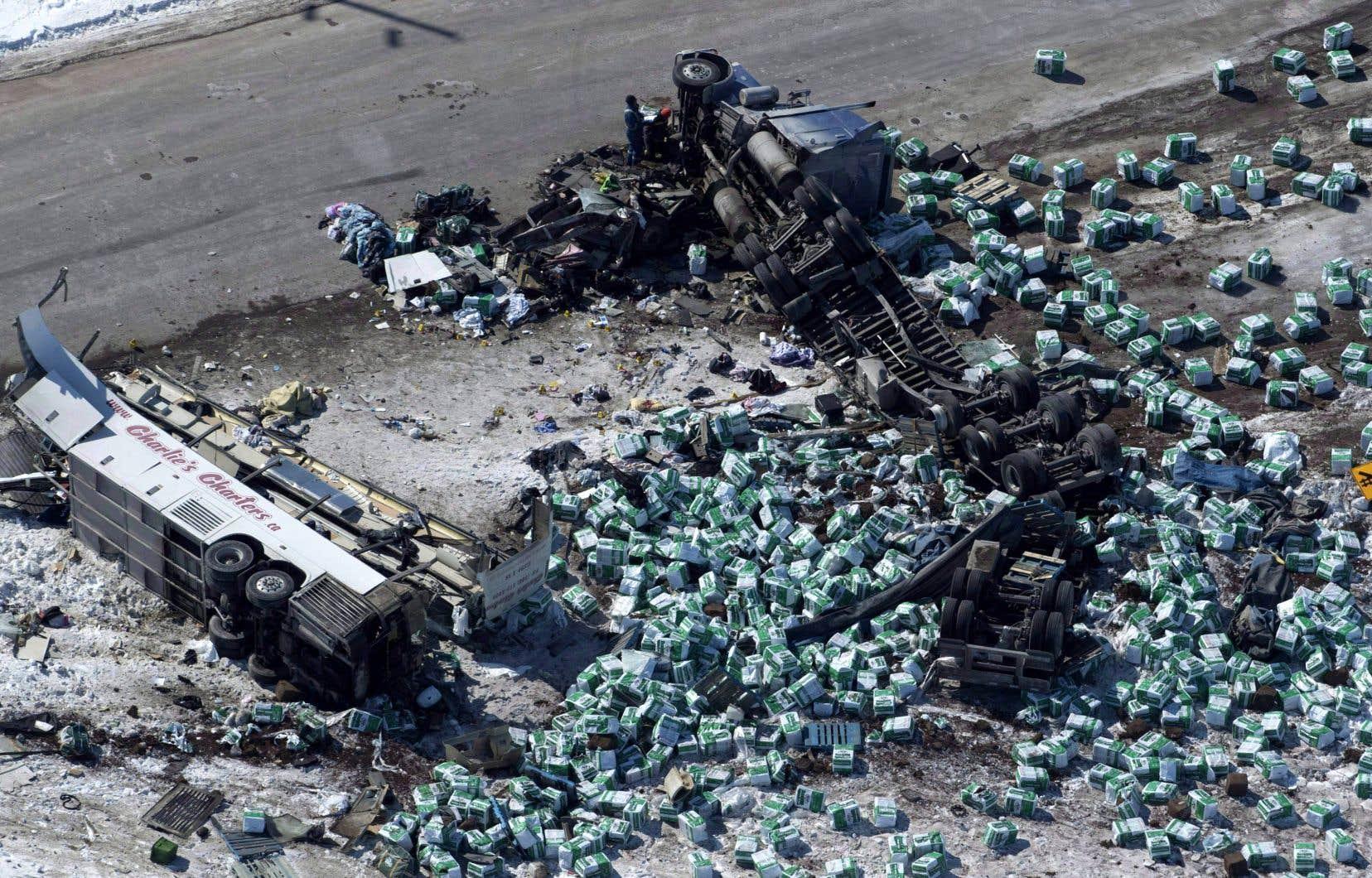Des documents révèlent que Transport Canada a envisagé d'adopter la nouvelle réglementation rapidement à la suite du tragique accident, survenu le 6avril en Saskatchewan.