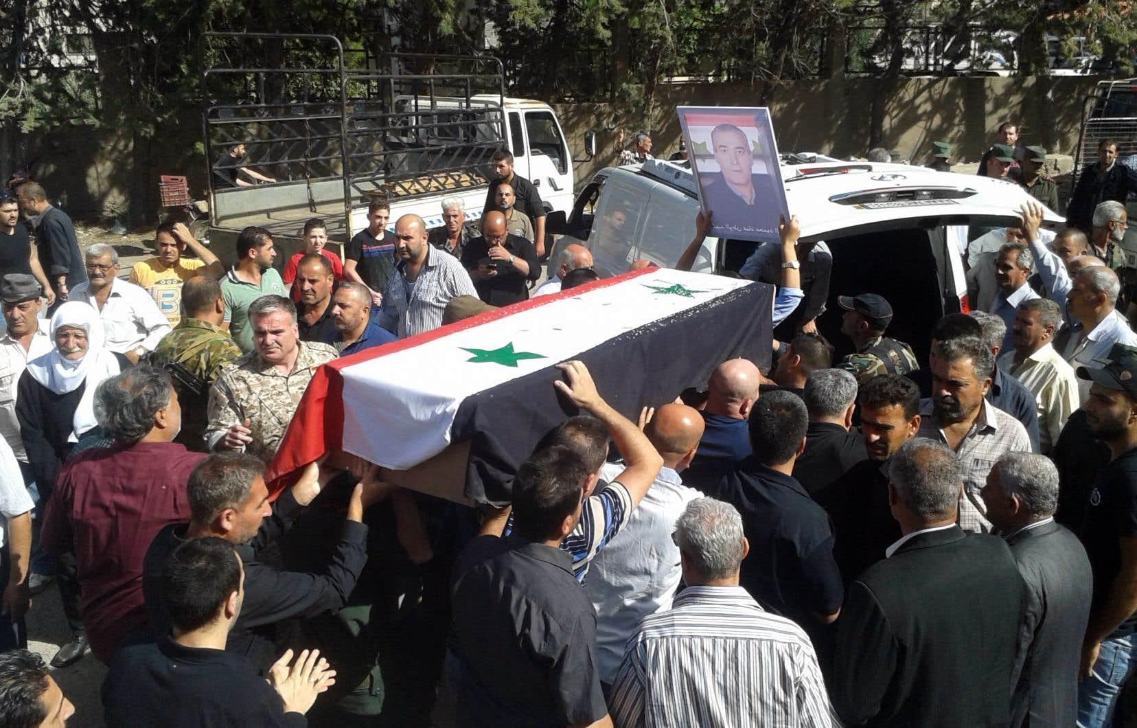 Le 25juillet, le groupe EI a lancé une série d'attaques coordonnées, notamment dans le chef-lieu de la province, qui ont fait plus de 250 morts.
