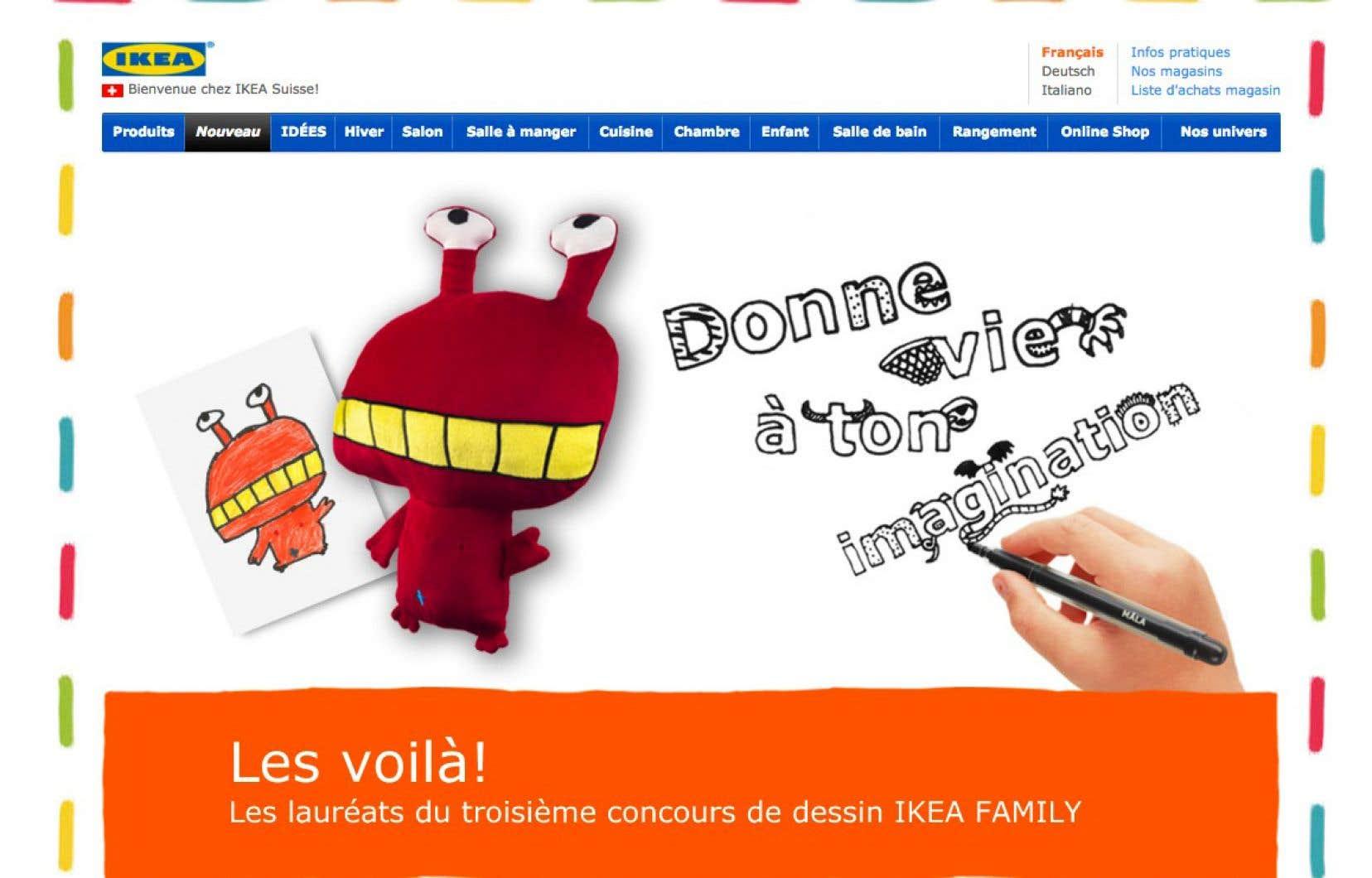 Claude Bouchard accusait IKEA et l'UNICEF d'avoir plagié son concept de peluches conçues à partir de dessins d'enfants.